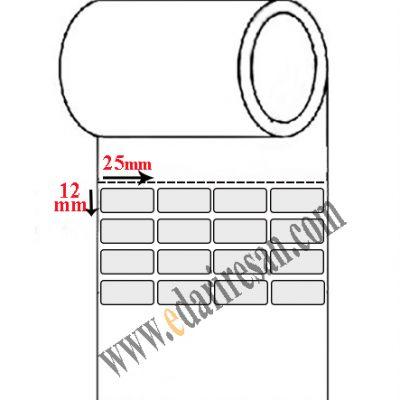 لیبل کاغذی 25*12-رول لیبل-کاغذی
