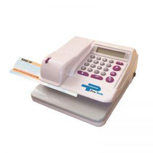 دستگاه پرفراژ چک 16 رقمی پروتک مدل EC-160